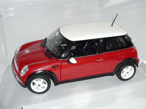 Mini Cooper New Neu 2001-2006 Rot 1. Generation 1/18 Modellcarsonline Modellauto Modell Auto
