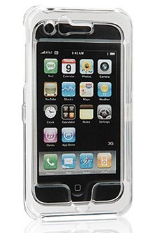 Apple iPhone 3G 3GS 2nd & 3rd Generation Crystal Clear Plastic Hard Case Cover