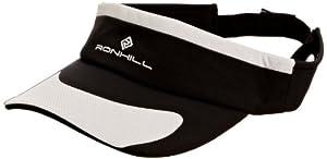 Ronhill Women's Run Vizor - Black/Titanium, One Size