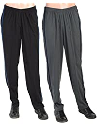 Twin Pack Of Grey And Black Lounge Pants For Men