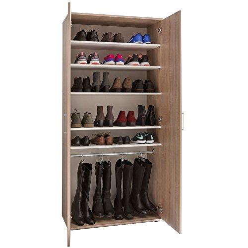 ZEARO-Schuhschrank-Schuhregal-Wandschrank-Stiefelschrank-Schuhe-Schuhablage