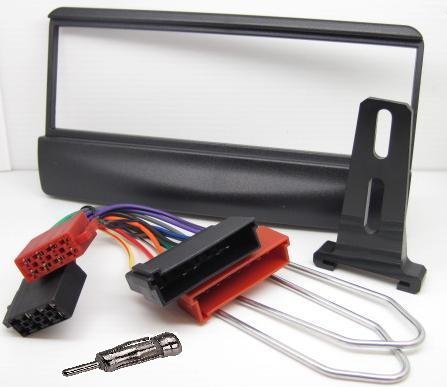 Ford Fiesta Car Stereo/Radio Fitting Kit Fascia/Facia Plate Aerial Adaptor ISO Lead Removal Keys