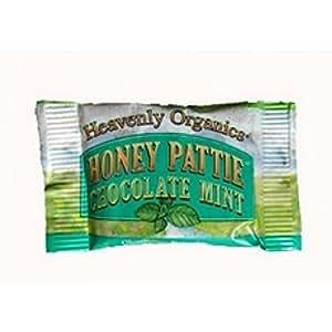 Heavenly Organics Honey Pattie Chocolate Mint Candy - 40 per pack -- 1 each.