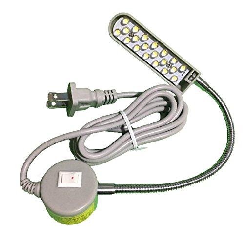 20 LED 110v Light Magnetic Mounting Base Working Gooseneck