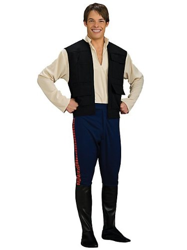 Rubies Costume Co R888740-XL Deluxe Adult Han Solo Size X-Large