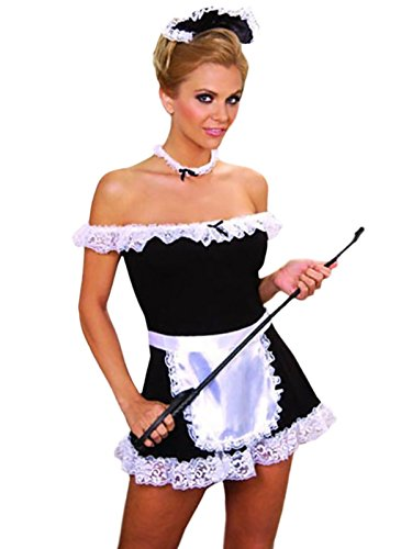 Sexy Maid-Black/White-S/M