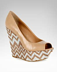 Symone Chevron Platform Wedge