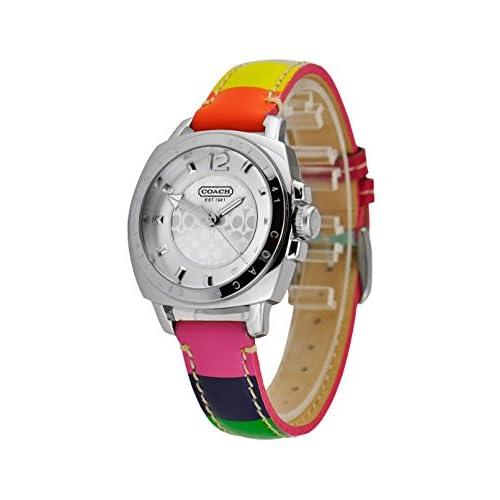 (コーチ) COACH コーチ 時計 COACH 14501545 ボ-イフレンド 腕時計 ウォッチ シルバー/マルチカラー[並行輸入品]