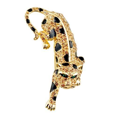 Pugster Swarovski Crystal November Birthstone Tiger Brooches And Pins