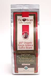 The Bean Coffee Company Organic Green Coffee Beans, Mexican, 16-Ounce from The Bean Coffee Company