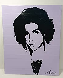 Duct Tape Art Piece of Prince