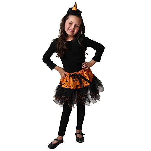 Orange Witch Tutu & Headband Set - 1