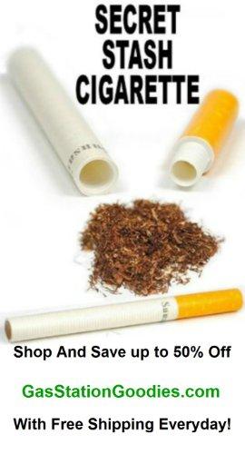 3 Pack Cigarette Secret Stash Diversion Safes / Pill Cases