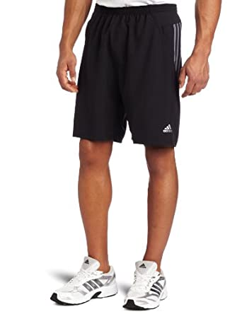 adidas Men's Response 9- Inch Baggy Short , Black/ Lead, X-Large
