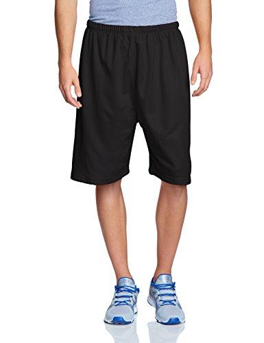 Urban Classics Bball Mesh Shorts - Pantalones cortos de deporte Hombre, Black, XX-Large (Talla del fabricante: XX-Large)