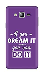 Amez If you can Dream it You can do it Back Cover For Samsung Galaxy ON7