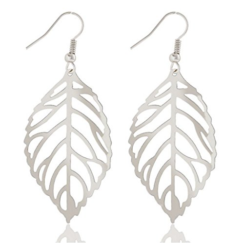 buy-any-2-get-1-free-silver-leaf-earrings-unique-fashion-jewellery-easy-tree-bird-branch-leaf-diamon