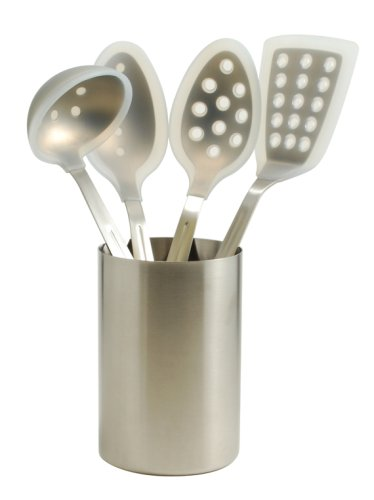 G&S Metal Products Five Piece Silicone and Stainless Steel Kitchen Tool Set