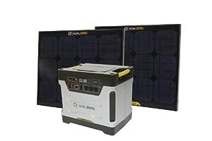 Goal Zero 39004 Yeti 1250 Solar Generator Kit, XX-Large (Silver/Black)