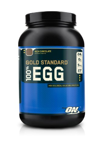 Optimum Nutrition 100% Egg Protein, Rich Chocolate, 2 Pound