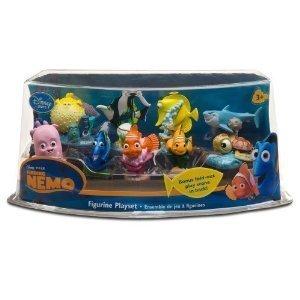 Finding Nemo Figurine Playset - Finding Nemo Figure Toy (9 Piece)