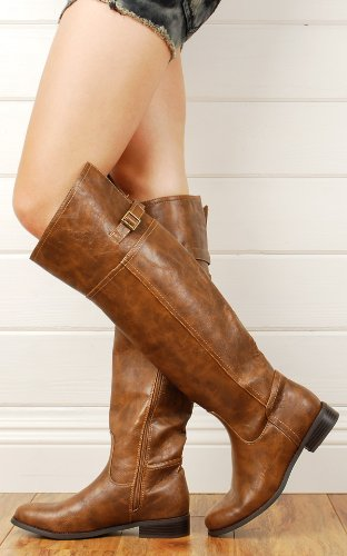 Best Price with Rider82 OTK Riding Boots TAN - Best Deal !! tan