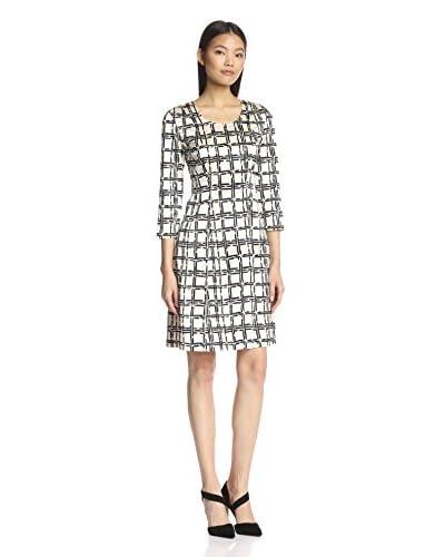 Natori Women's Fit & Flare Plaid Dress