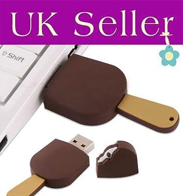 16GB Novelty Ice Cream USB Flash Key Pen Drive Memory Stick Gift UK by YooUSB