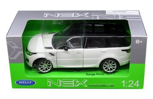 Range Rover Sport White 1/24 by Welly 24059 (White Range Rover compare prices)