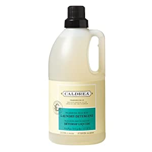 Caldrea Liquid Laundry Detergent-Palmarosa Wild Mint-64 oz, 64 loads