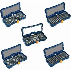 Irwin Industrial Tools 4935354 PTS Drive Tools SAE and Metric Plug Taps and 1-Inch Hex Dies