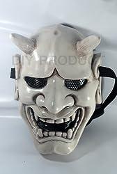 Japanese Hannya Evil Airsoft Mask and Prop Mask