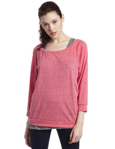 Roxy Juniors Morning Sun Open Neck Tee