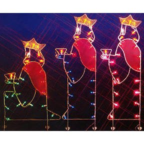 16 Lighted Snowflake Christmas Window Silhouette Decoration Of 66 Three Wisemen Nativity Silhouette Lighted