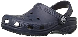 crocs Kid\'s Classic Clog 10006,Navy,C6C7 Toddler
