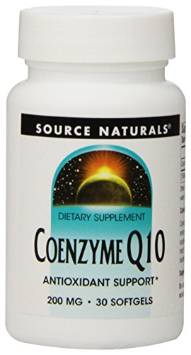 Source Naturals Coenzyme Q10, 200Mg, 30 Softgels