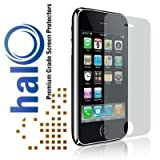 Halo Screen Protector Film Clear Matte (Anti-Glare) for Apple iPhone 3G 3GS (3-Pack)