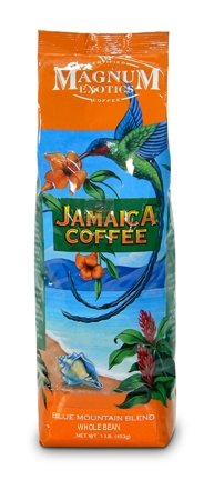 Magnum Jamaican Blue Mountain Blend, Whole Bean, 1 Lb Bag