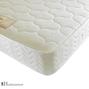 Prince Coil Sprung Mattress with Rebounce   4FT6 Double Mattress   Medium Firmness   Two Sided   Damask   Reflex Foam       review and more information