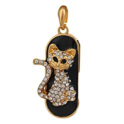 Zen The Master Style Cat Character Shaped Fancy Designer Durable 16 GB USB 2.0 Pendrive