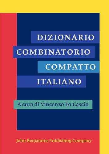 Dizionario combinatorio compatto italiano PDF