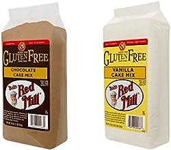 Bob39s Red Mill Gluten Free Cake Mix - 1 Chocolate 1 Vanilla