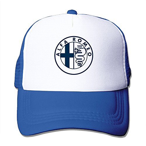 PTR Alfa Romeo Europe Circle Hiking Hat Cap One Size Fit All RoyalBlue