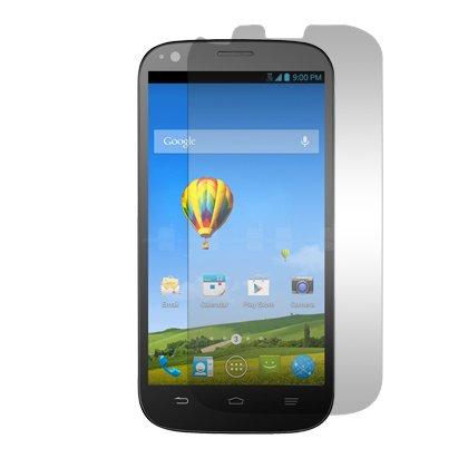 Zte Warp Sync N9515 (Boost Mobile) - Premium Clear Screen Protector Guard + Atom Led Keychain Flashlight