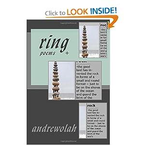 ring: poems (Volume 1) andrew olah