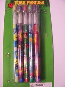 Spring Push Pencils ~ Set of 10 (Bugs)