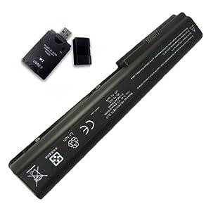 12 Cell Battery for HP Pavilion dv7-3000 dv7-3100 dv7/CT dv7t dv7t-1000