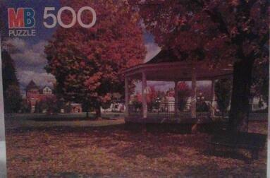 West Burke, Vermont 500 Piece Croxley Puzzle (1986) - 1