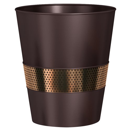 nu steel Selma ORB Wastebasket (Copper Garbage Can compare prices)