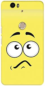 Kasemantra Confused Face Case For Huawei Google Nexus 6P